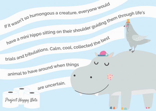 Hippo and Pigeon